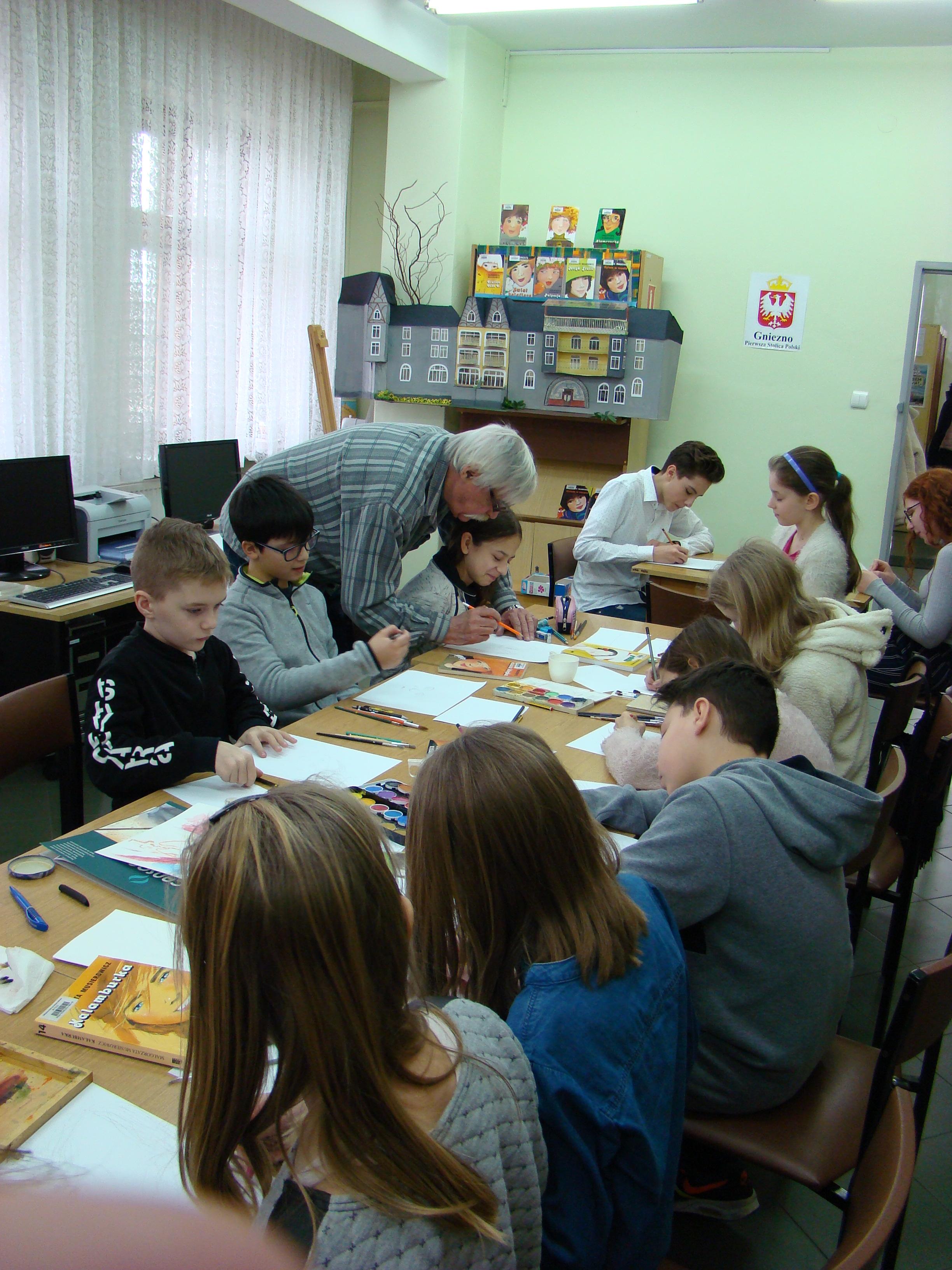Borejkowie na papierze – warsztaty z mistrzem Kazimierzem Muszyńskim