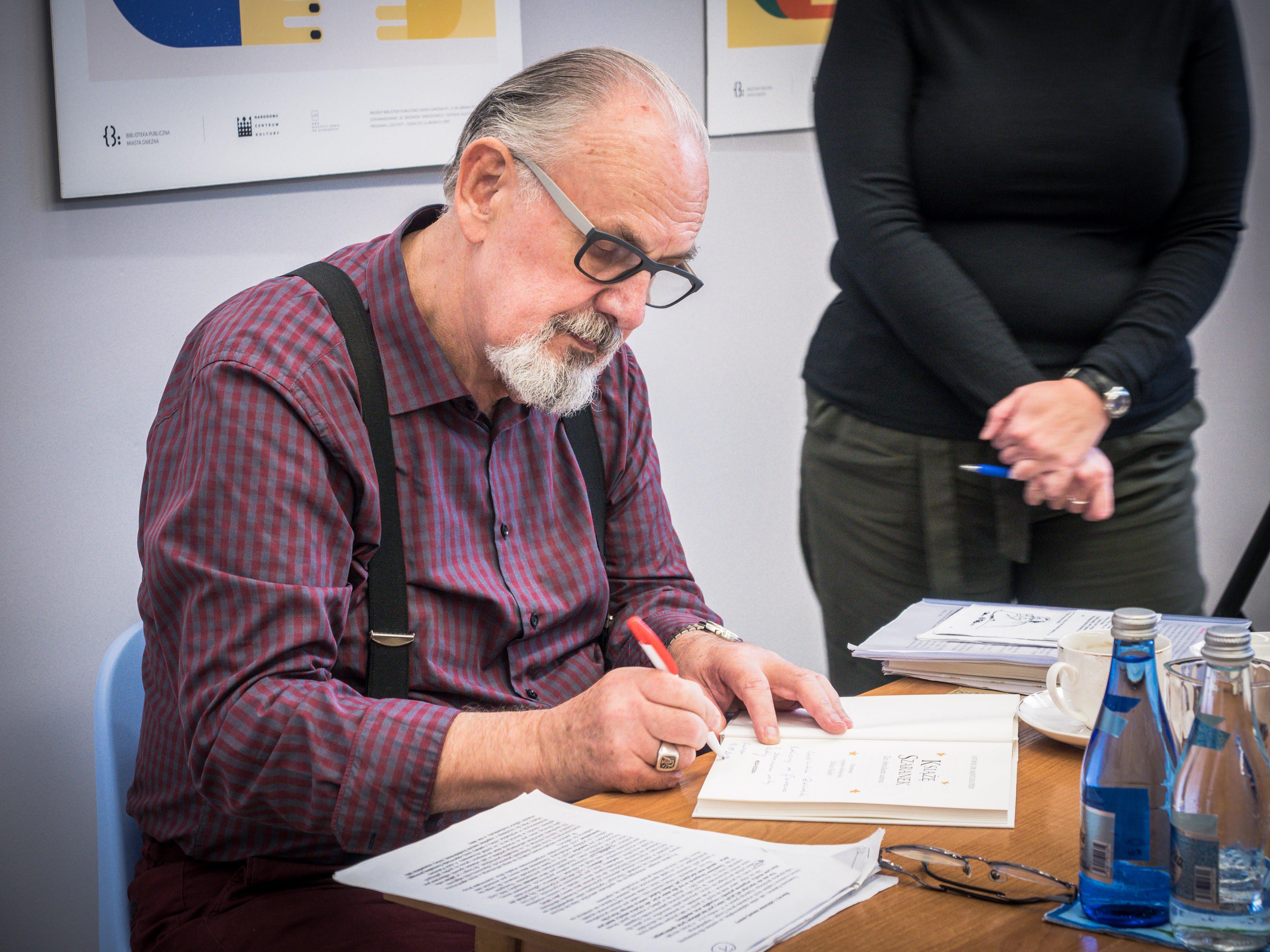 Spotkania gwarowe w Czytelni Biblioteki Głównej w roli gościa – Juliusz Kubel