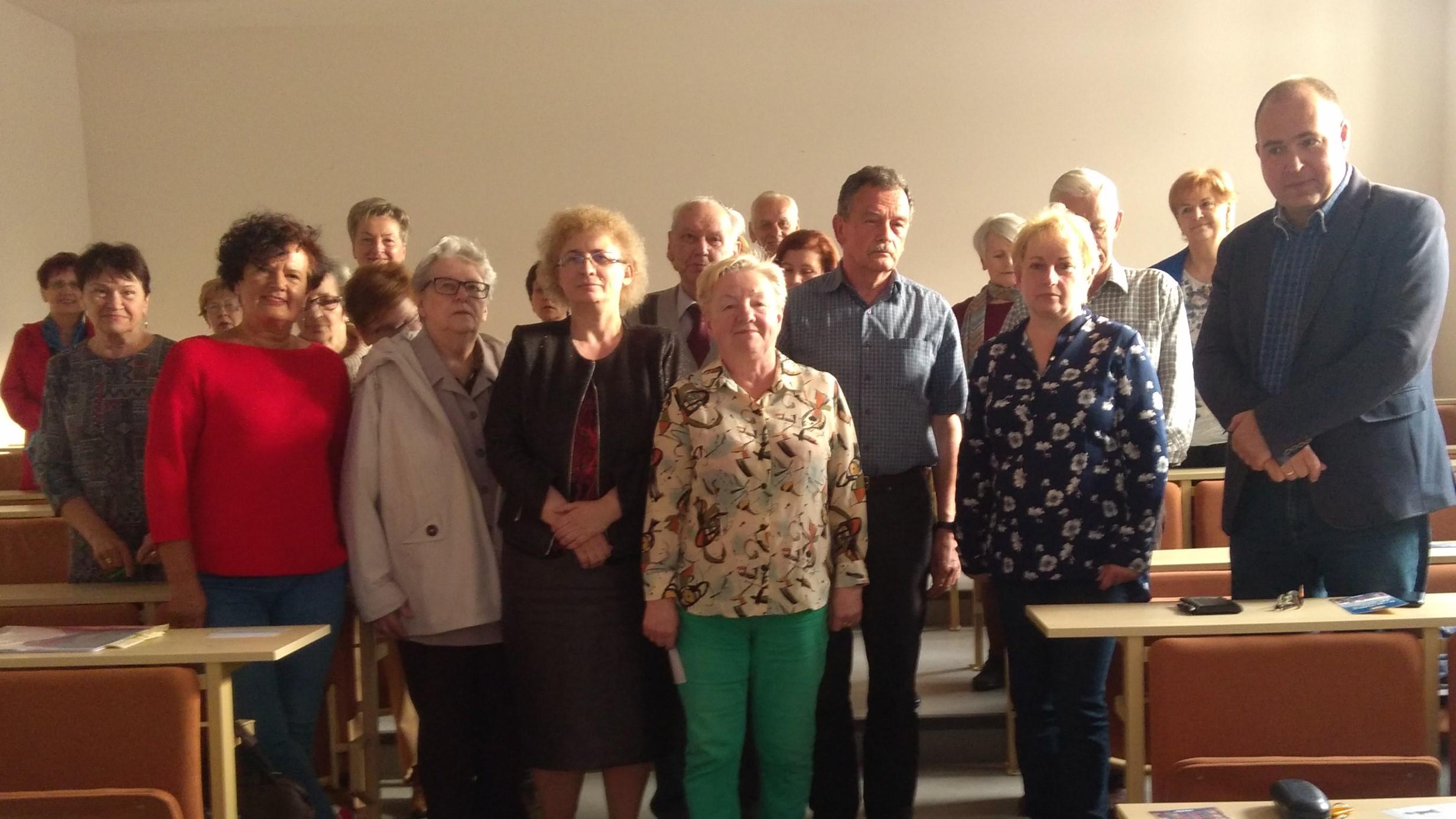 Z wizytą w Gnieźnieńskim Uniwersytecie Trzeciego Wieku