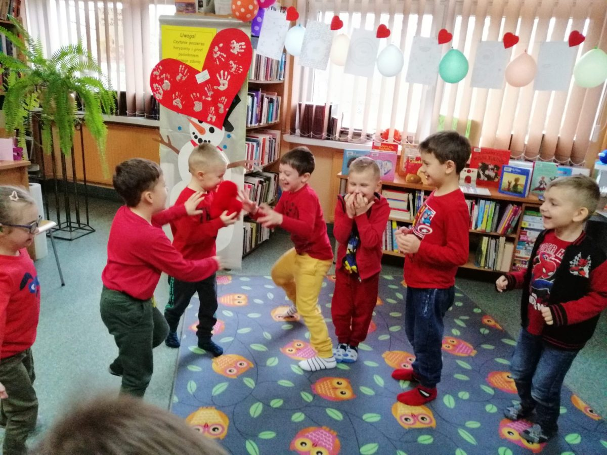 Walentynki z Biblioteką