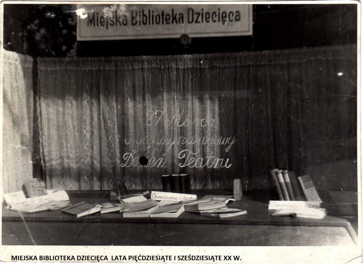 Biblioteczny kącik jubileuszowy – Oddział Dziecięcy