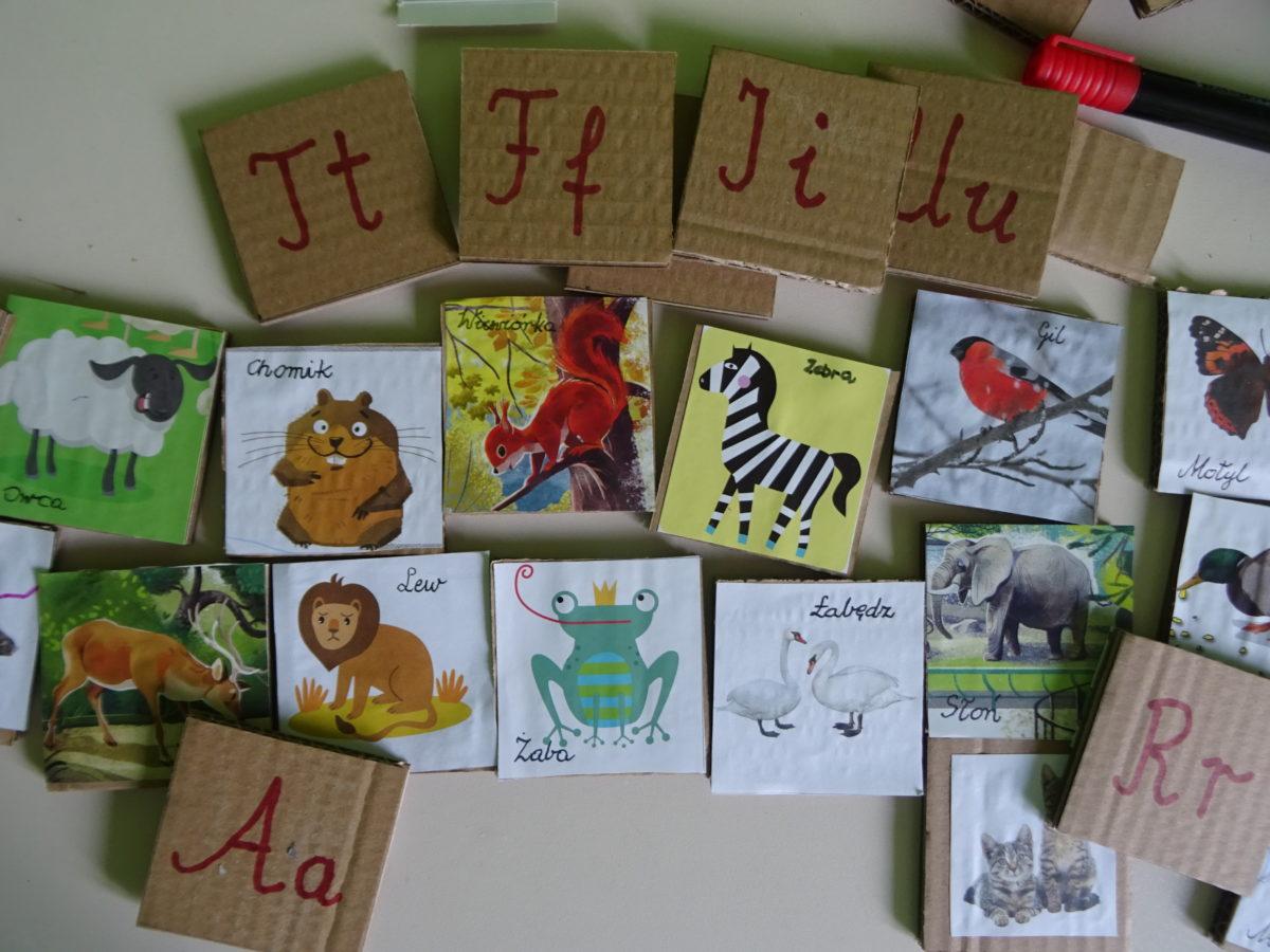 Karty edukacyjne – pomysł na czas z dzieckiem