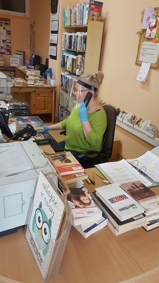 Telefoniczne umawianie wizyt w Bibliotece