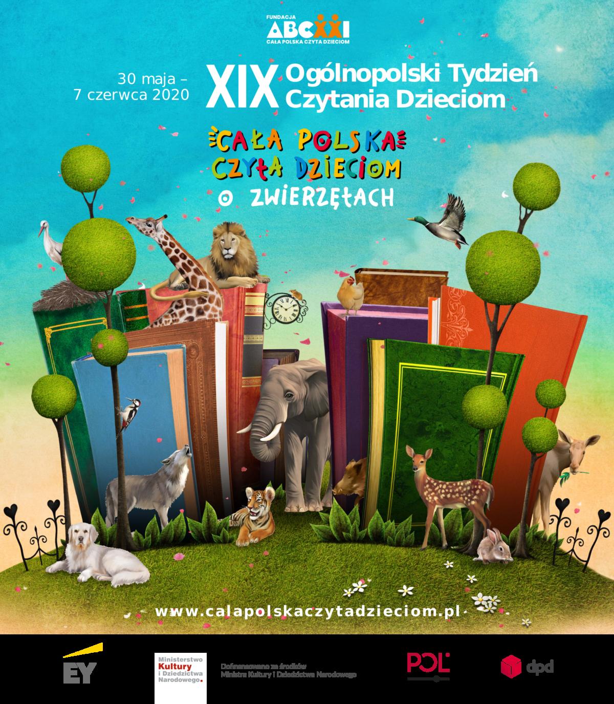 XIX Ogólnopolski Tydzień Czytania Dzieciom (30 maja -7 czerwca)