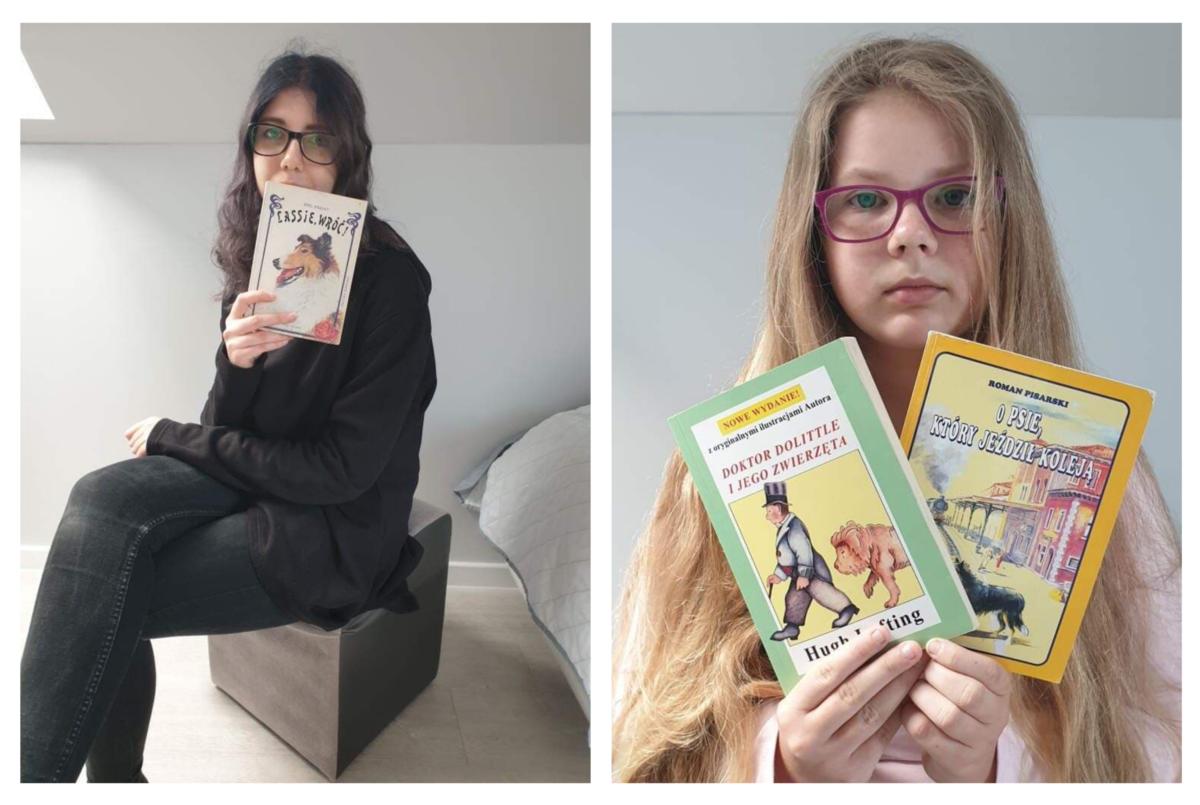 Ogólnopolski Tydzień Czytania Dzieciom – Julia i Nikola