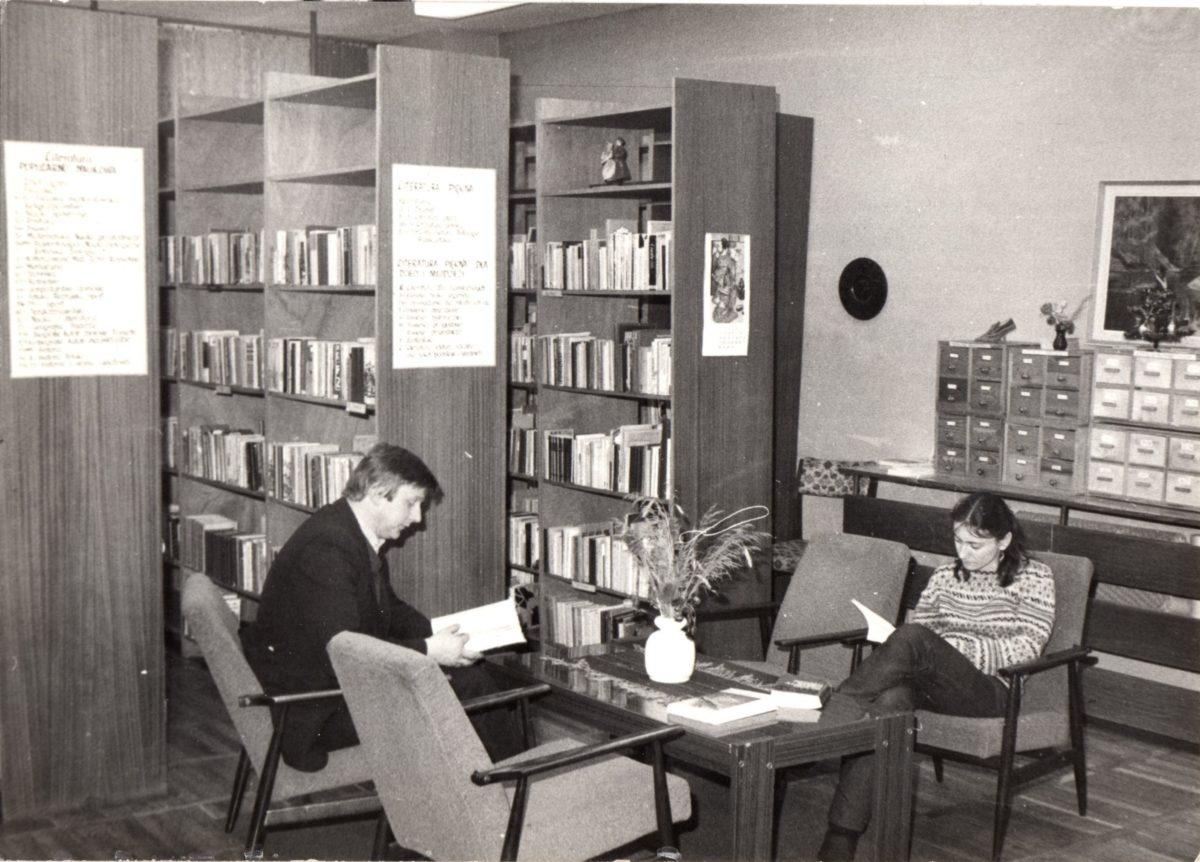 Biblioteczny kącik jubileuszowy – Filie przy zakładach przemysłowych