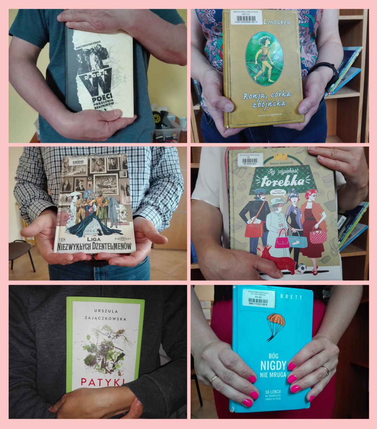 Uściskaj … książkę!