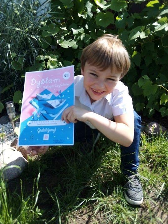 Mała książka – wielki człowiek. Pierwsze dyplomy rozdane!