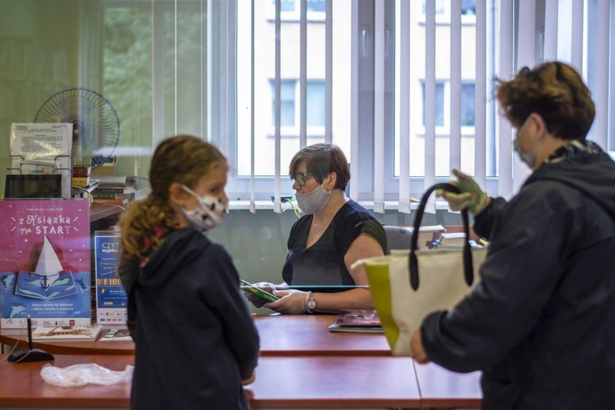 75 lat Biblioteki plus rozdział: pandemia