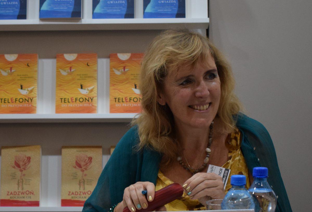 Spotkanie autorskie z Anną Łaciną