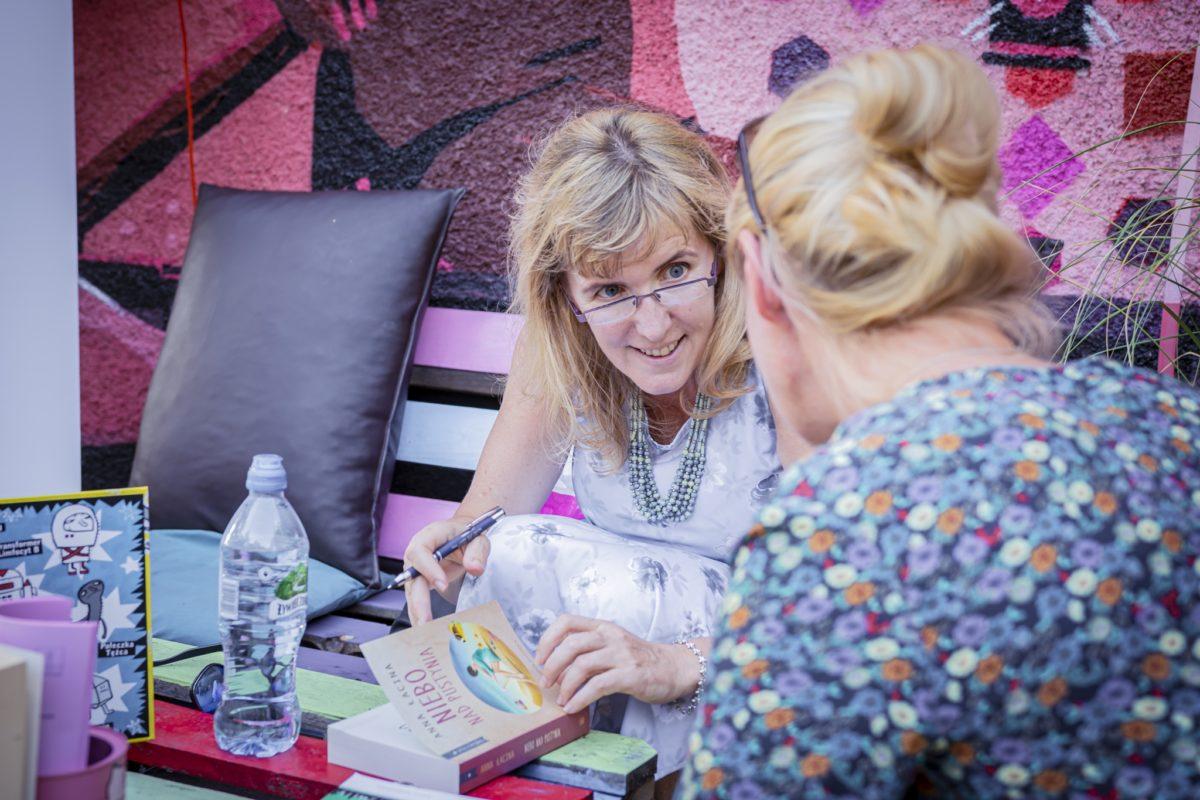Spotkanie z Anną Zgierun-Łaciną