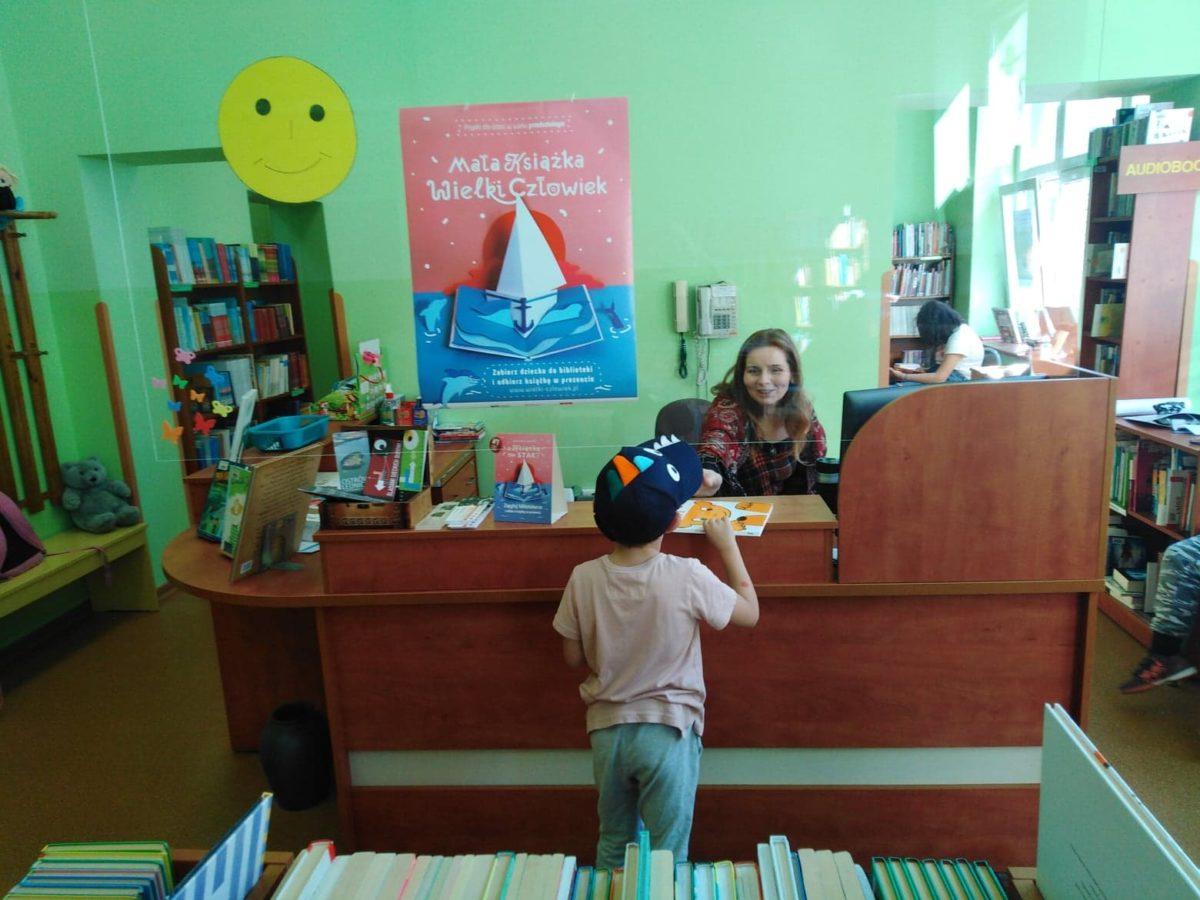 Zapisz dziecko do biblioteki!