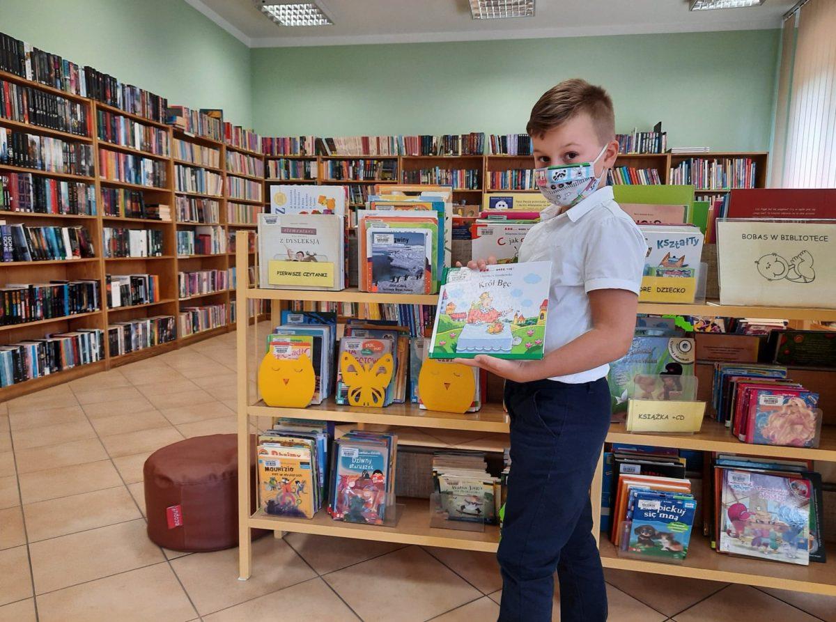 Pierwsze czytanki w Bibliotece