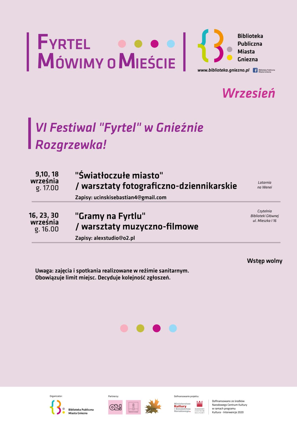 "Niebawem VI Festiwal ""FYRTEL"""