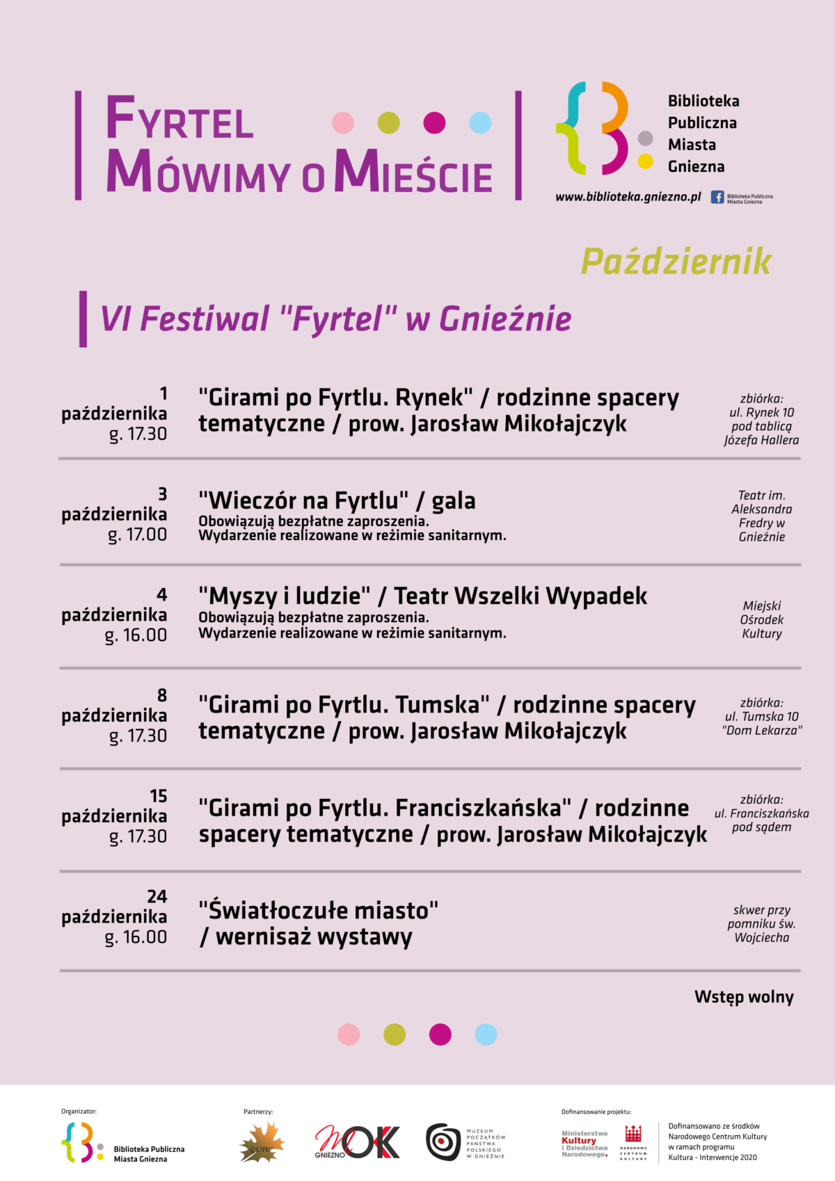 VI Festiwal FYRTEL w październikowej osłonie