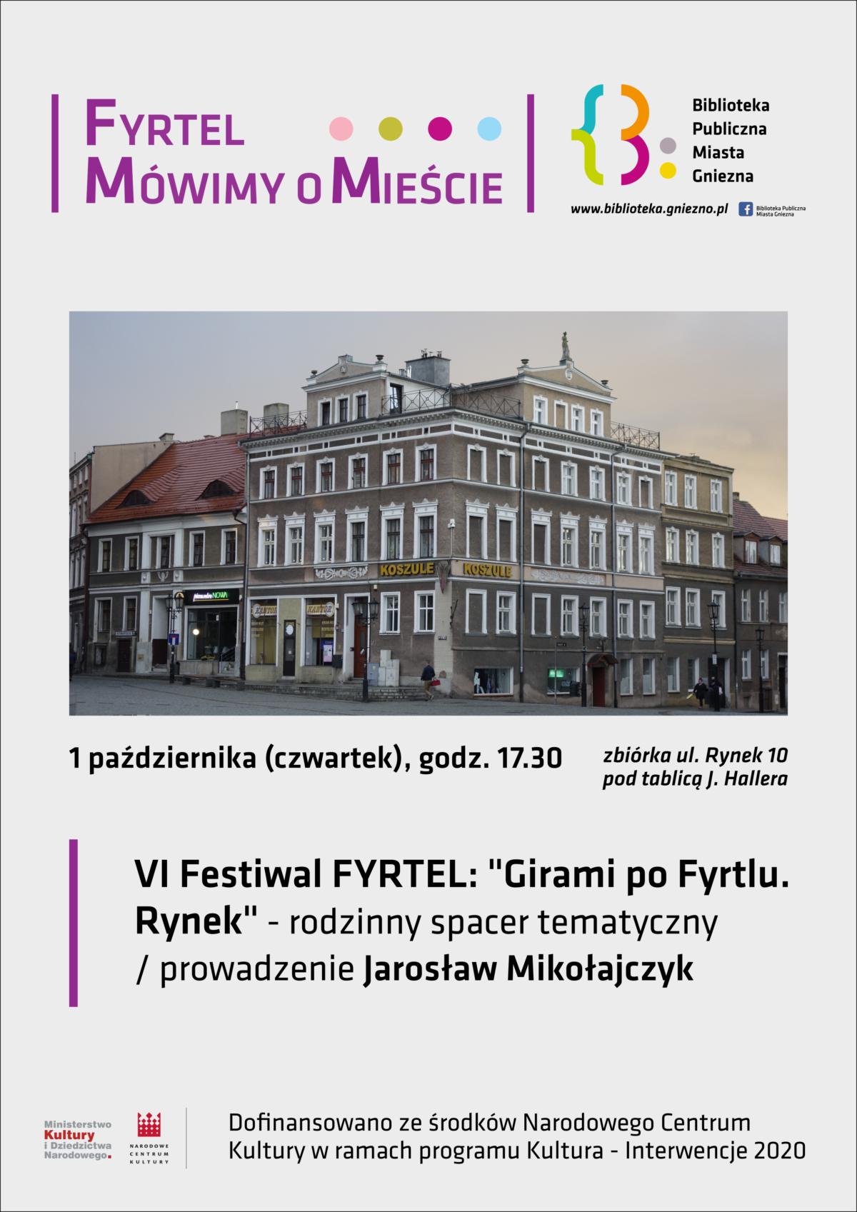 """""""Girami po Fyrtlu"""" – spacery z Jarkiem Mikołajczykiem"""