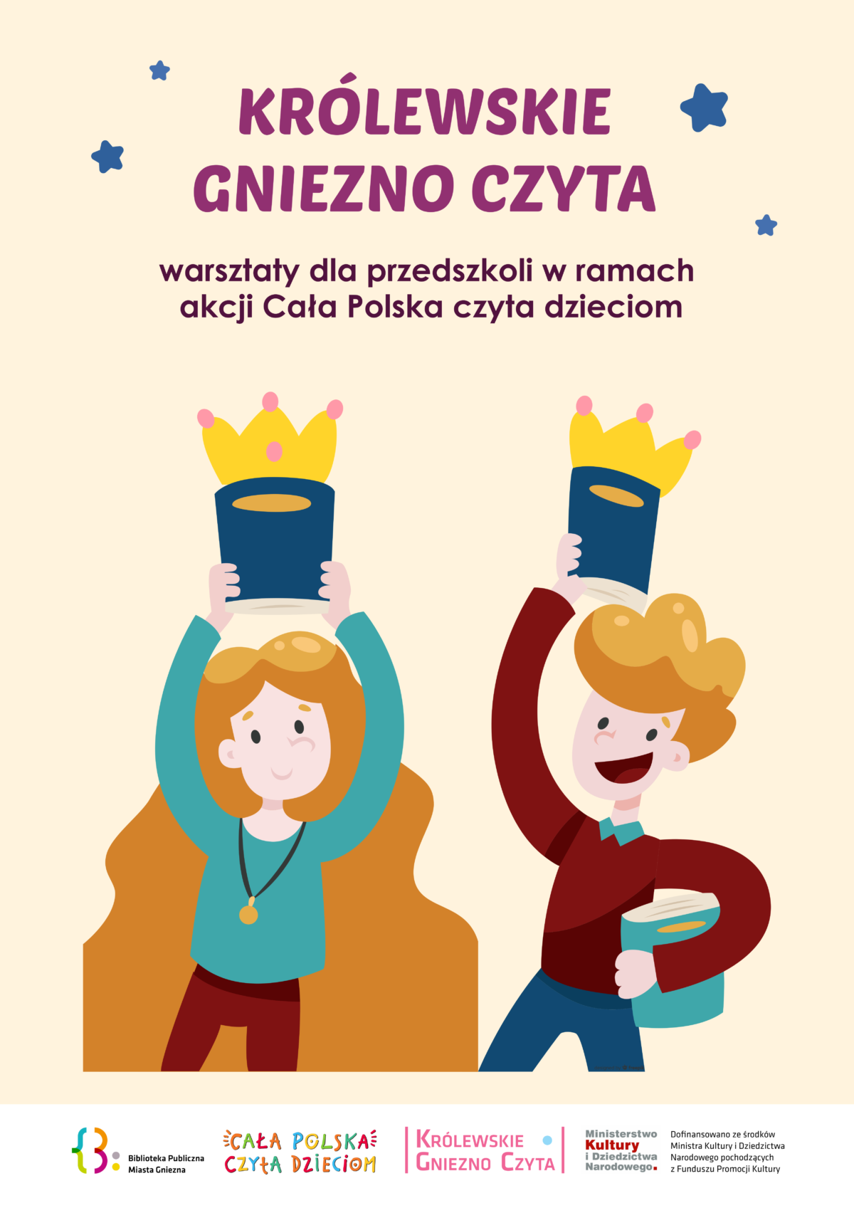 """Warsztaty w ramach projektu """"Królewskie Gniezno Czyta"""""""
