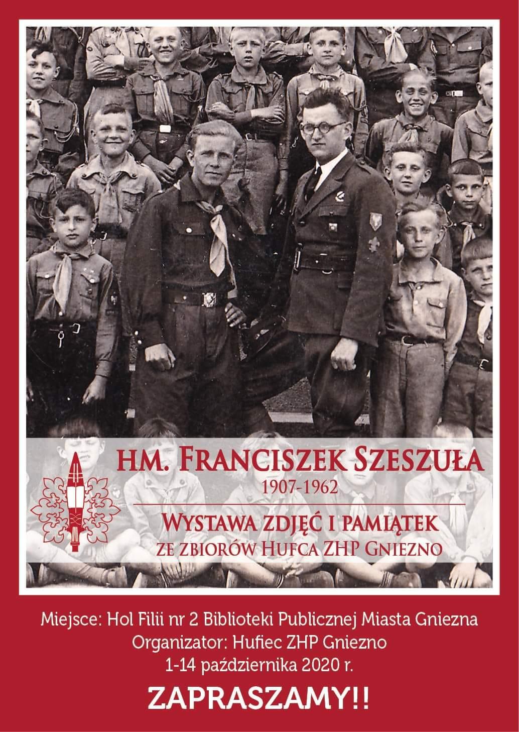 Wystawa poświęcona Franciszkowi Szeszule – zasłużonemu komendantowi Hufca ZHP Gniezno
