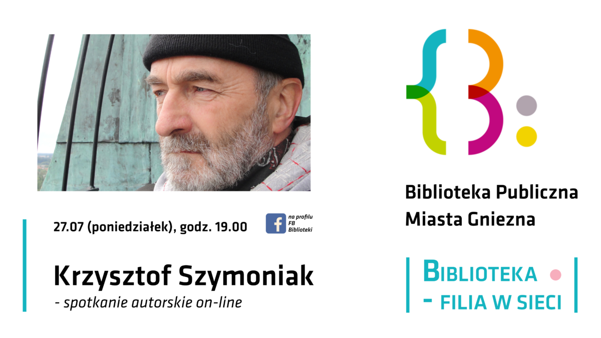 Literacki fyrtel w sieci: Krzysztof Szymoniak