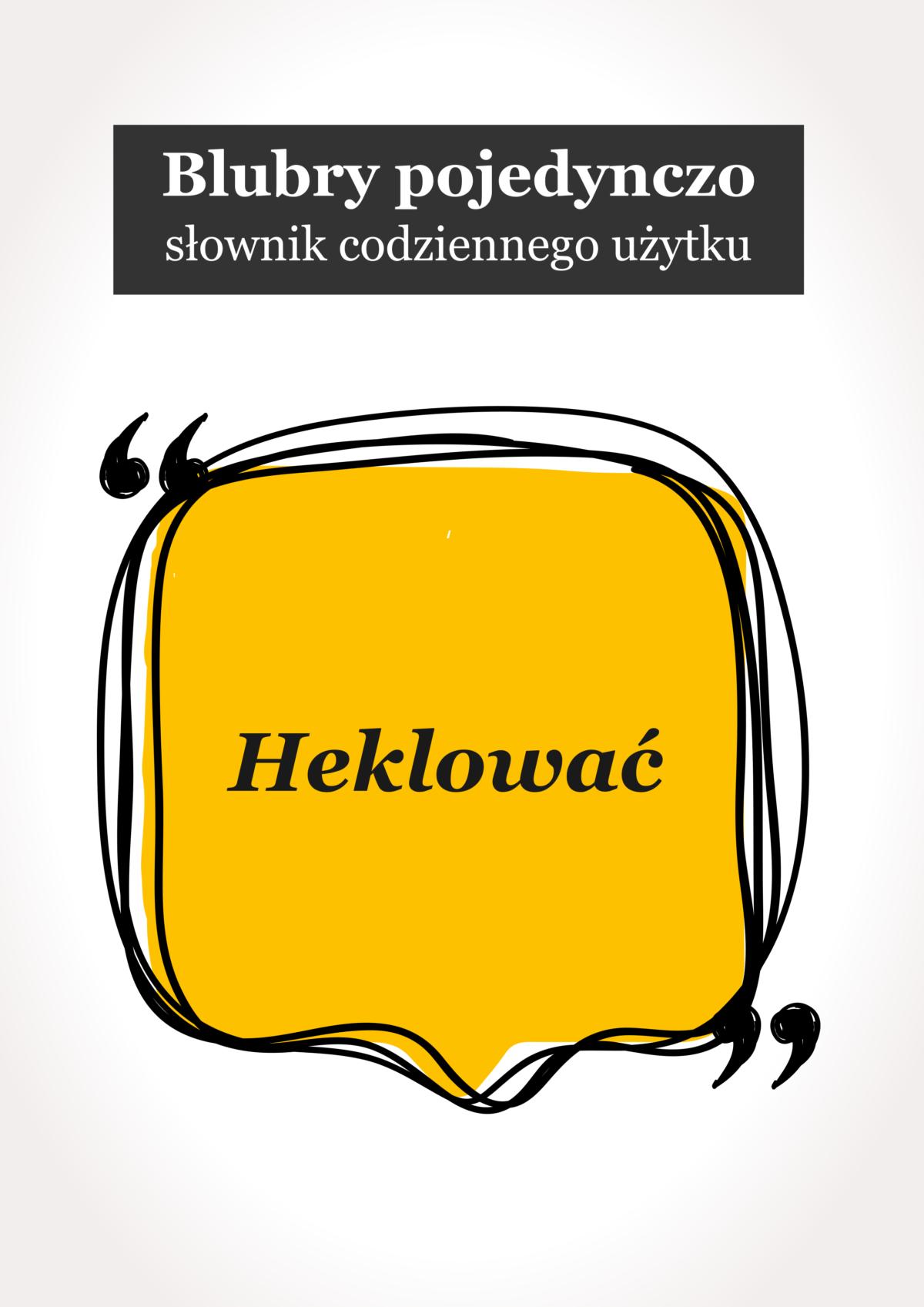 """Blubry: """"Heklować"""""""