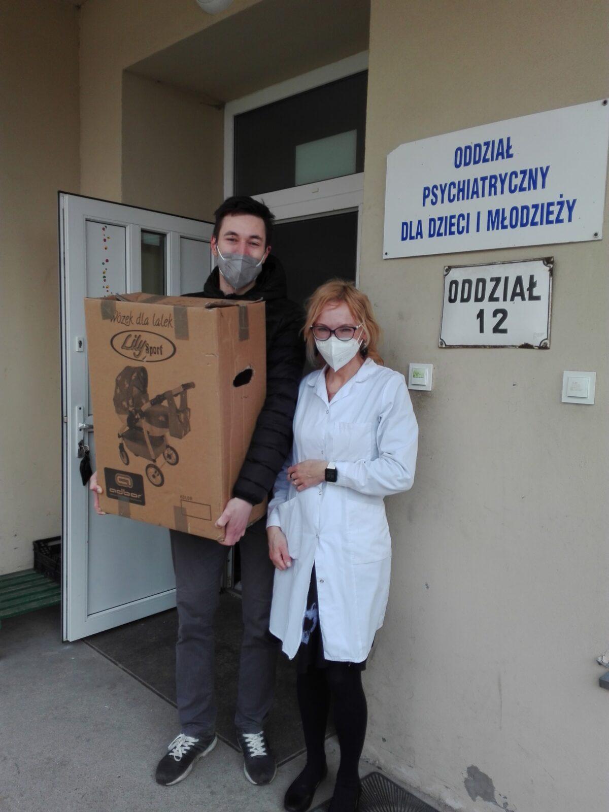 Książki dla pacjentów Oddziału Dziecięcego Wojewódzkiego Szpitala dla Nerwowo i Psychicznie Chorych Dziekanka