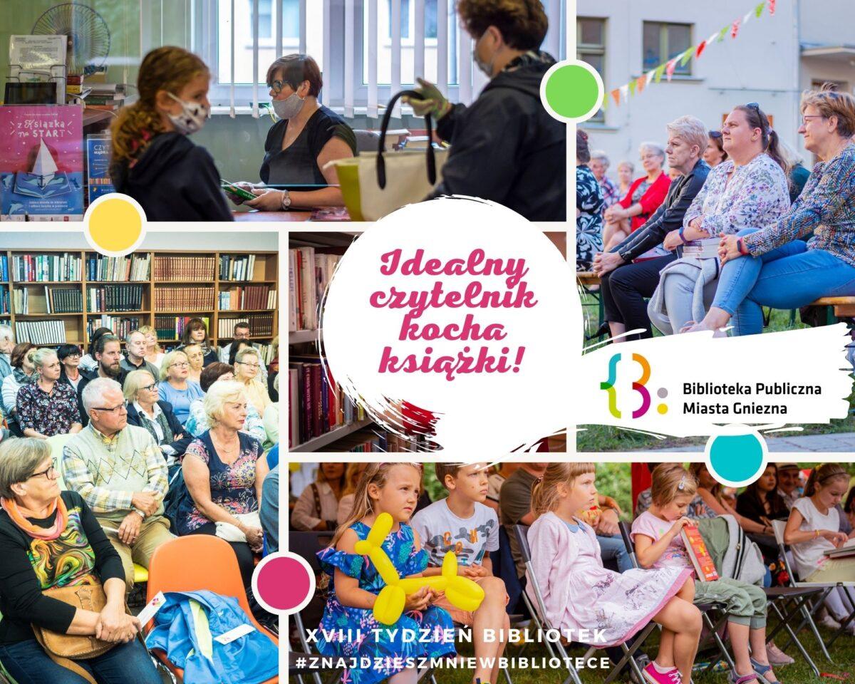 #fyretlbiblioteczny czyli Tydzień Bibliotek w obrazku