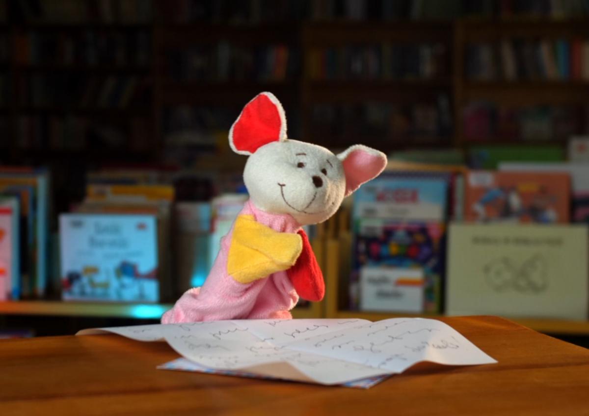 Myszka Marcysia uczy gwary: List od kuzynki Leokadii