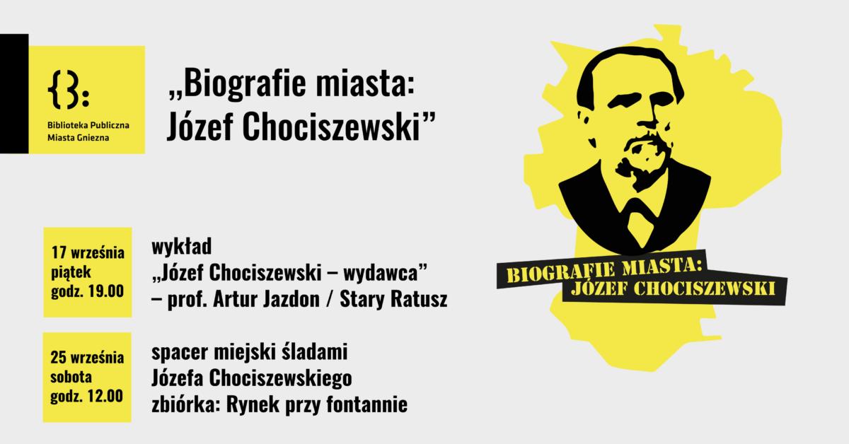 Biografie miasta: Józef Chociszewski