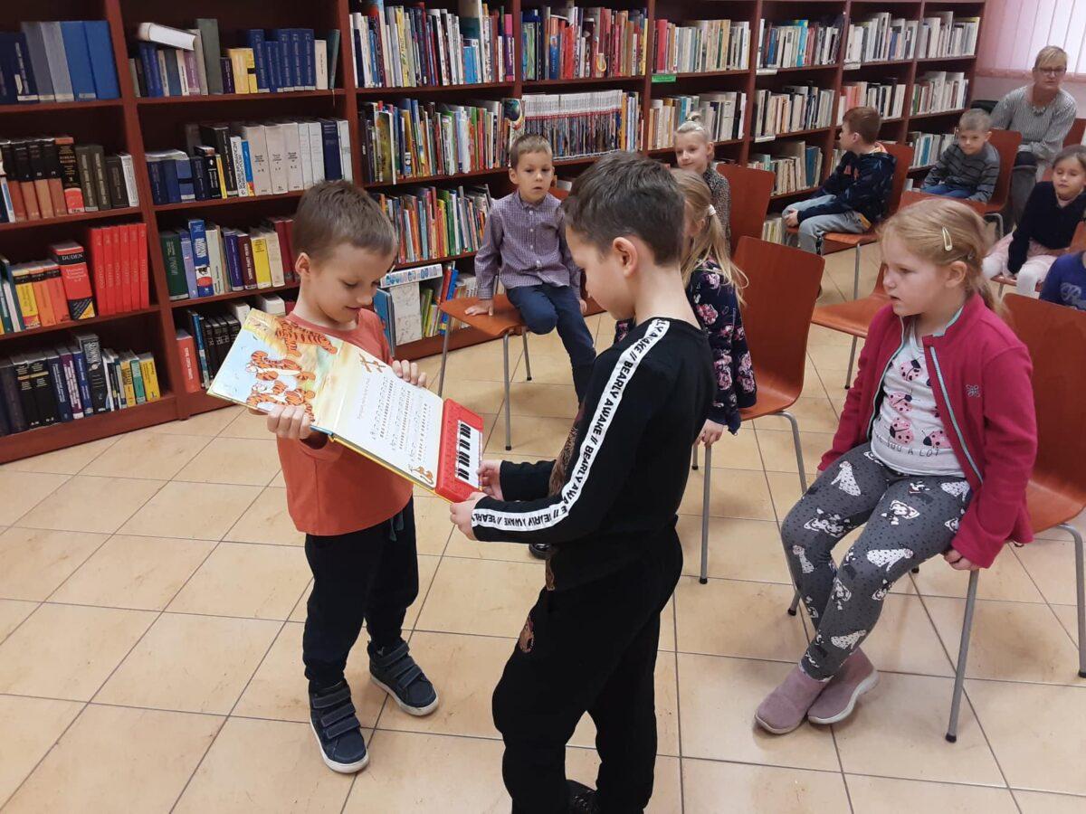 Urodziny Kubusia Puchatka w ramach akcji Cała Polska czyta dzieciom