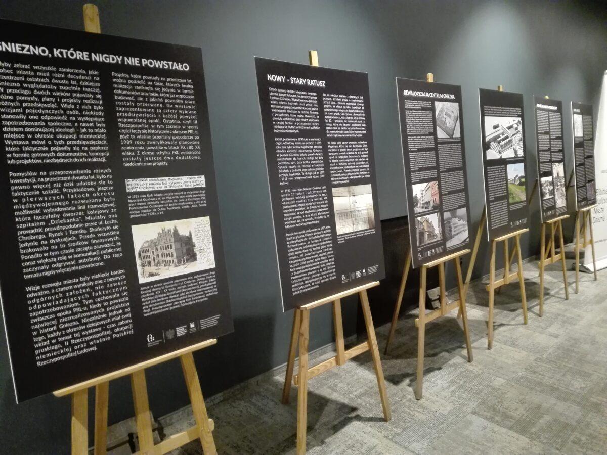 """Wystawa """"Gniezno, które nigdy nie powstało"""" od poniedziałku w Czytelni Biblioteki Głównej"""