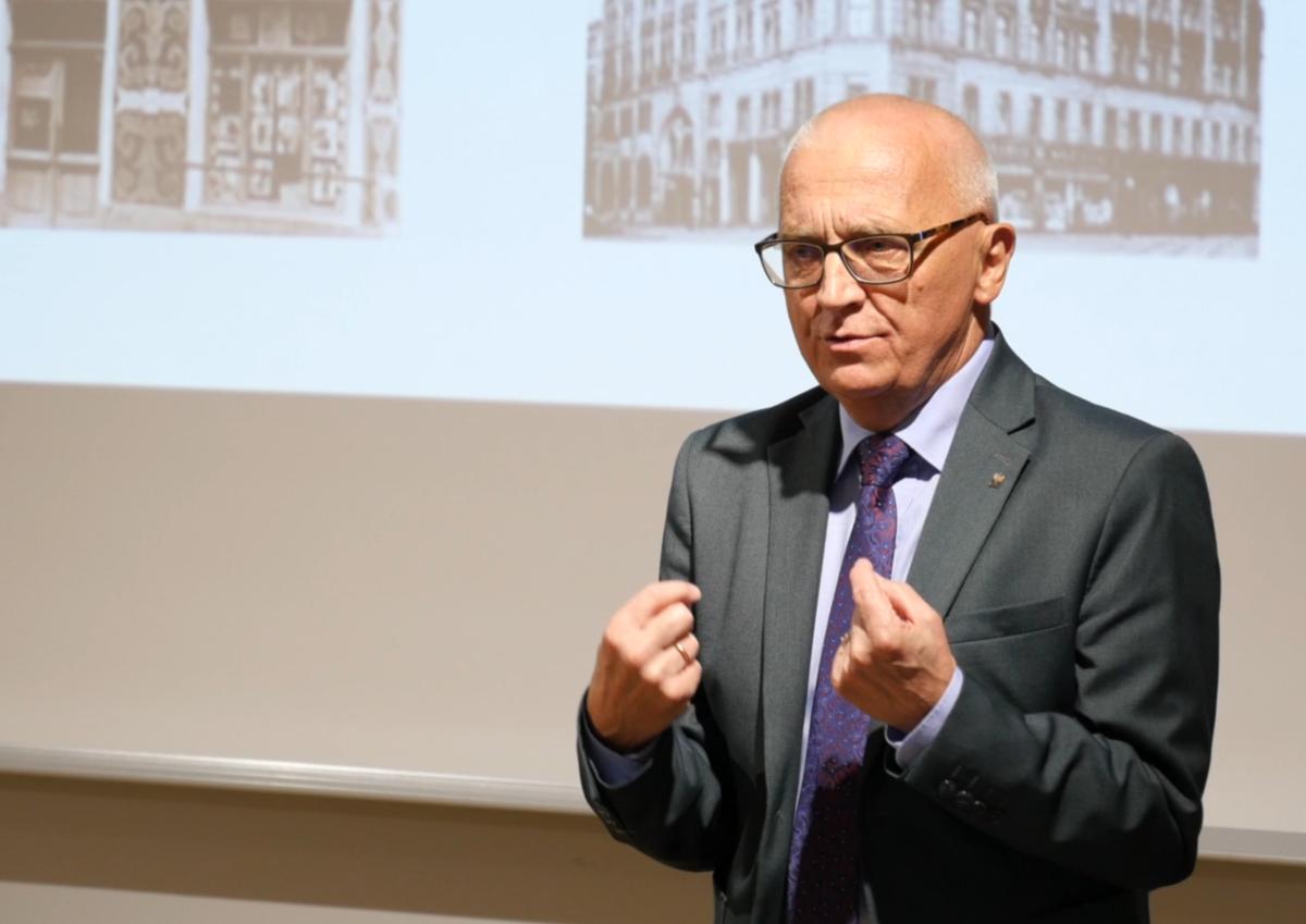Wydawnicza działalność Józefa Chociszewskiego – wykład dra hab. Artura Jazdona