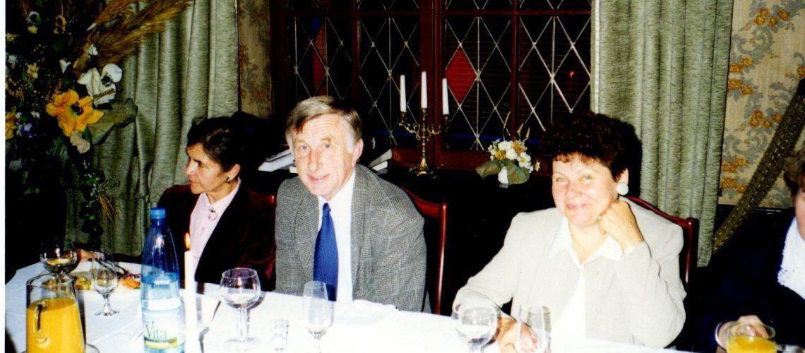 Od lewej: Łucja Sternalska, Jan Maćkowiak (były Dyrektor BPMG), Krystyna Walaszczyk